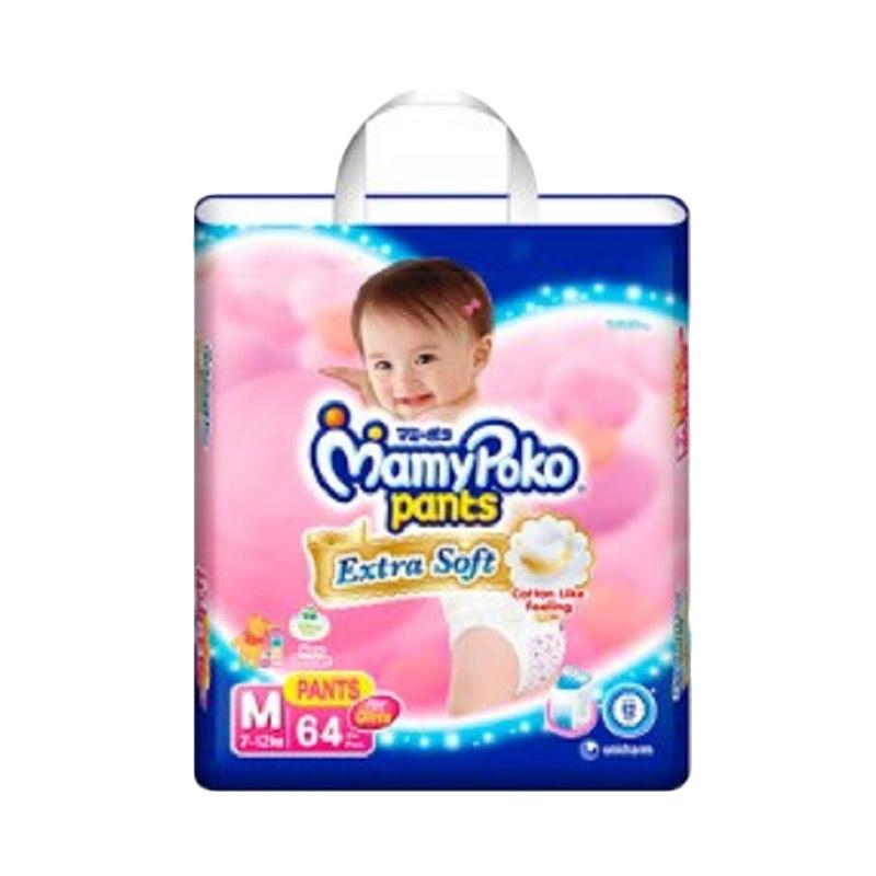 MamyPoko Pants Extra Soft M64 Girl