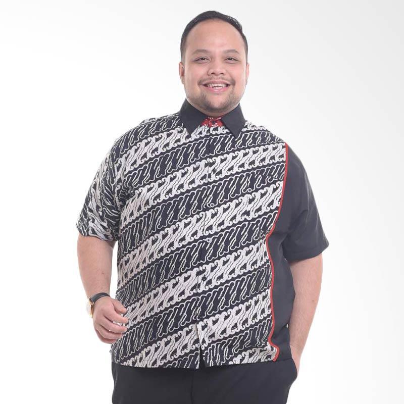 harga WGB Batik Big Size Jumbo Bima Sakti Kemeja Pria Blibli.com