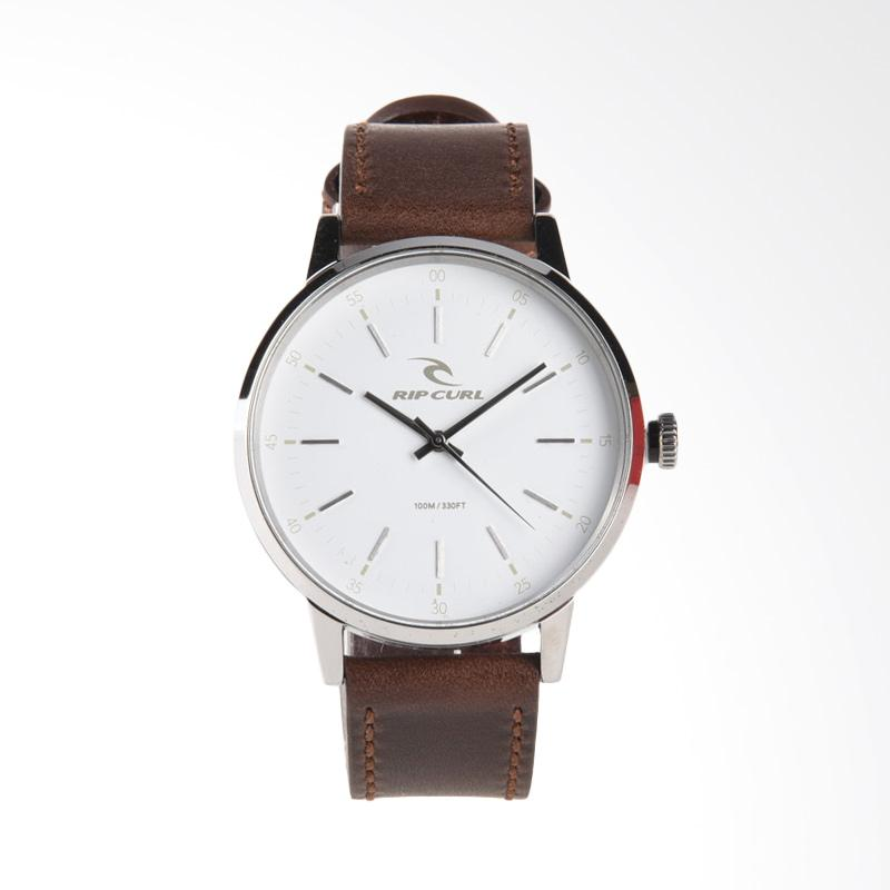 Rip Curl Drake Leather Jam Tangan Pria - White [A2900 1000]