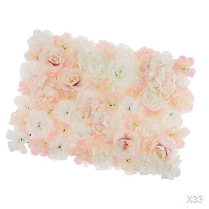 Jual Artificial Flower Wall 60x45x7cm Photography Background Flowers Decoration For Photo Video Studio Online Februari 2021 Blibli