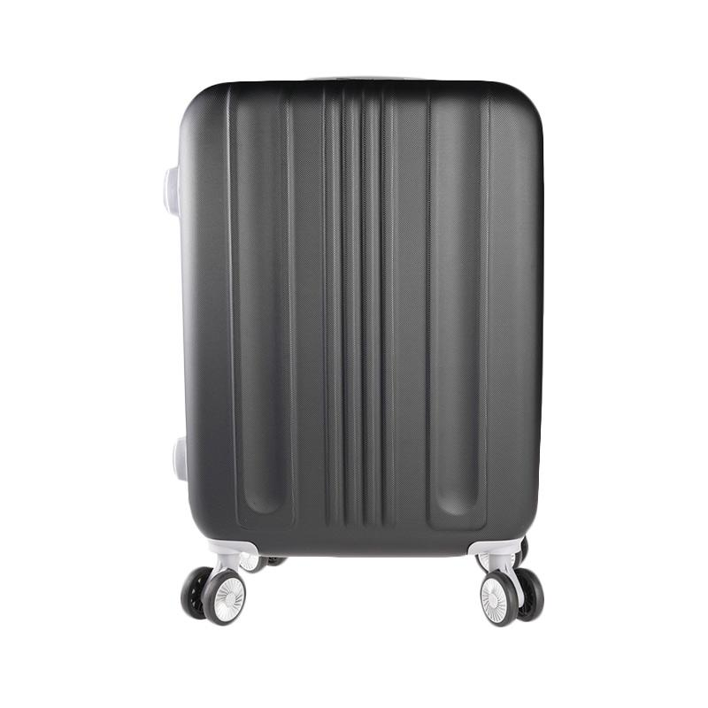 Polo Twin 706 Expandable Trolley Bag - Black [21 inch]