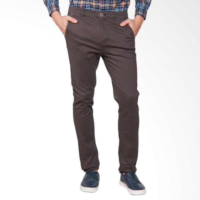 Moutley 3105 Men Pants Celana Panjang Pria - Brown 331051713