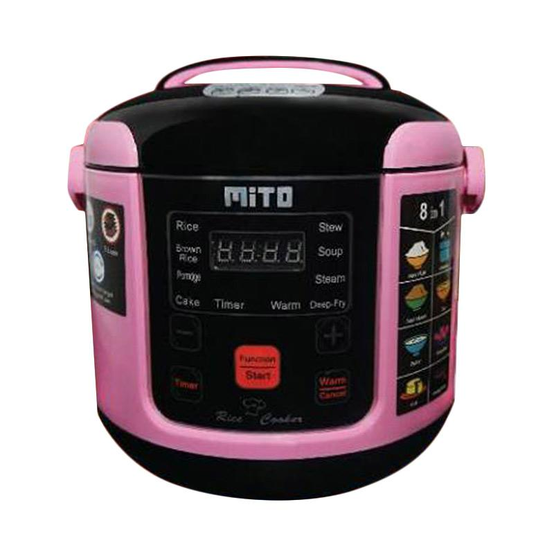 Mito R1 8in1 Digital Rice Cooker - Pink [1 L]