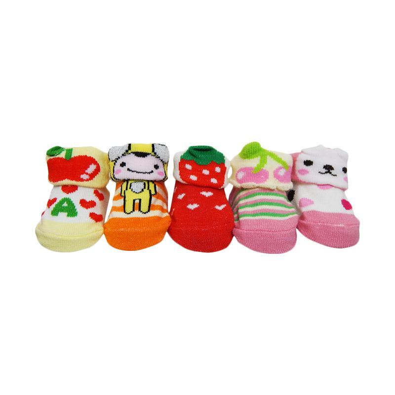 Wonderland Baobei Baby Sock Motif Girl Kaos Kaki Bayi