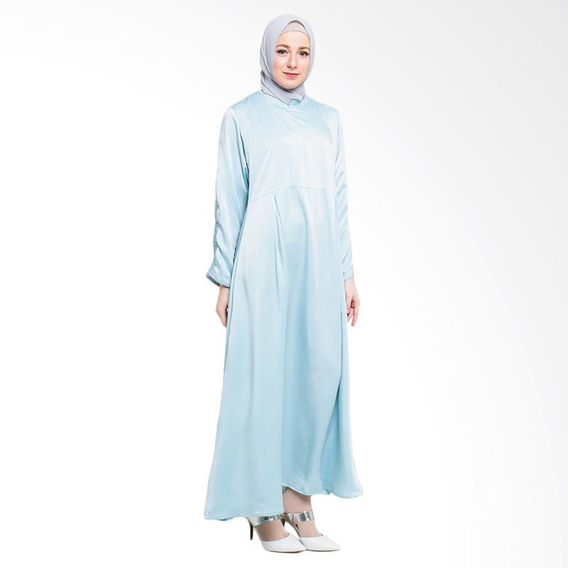 Allev Arina Dress Muslim - Biru Muda