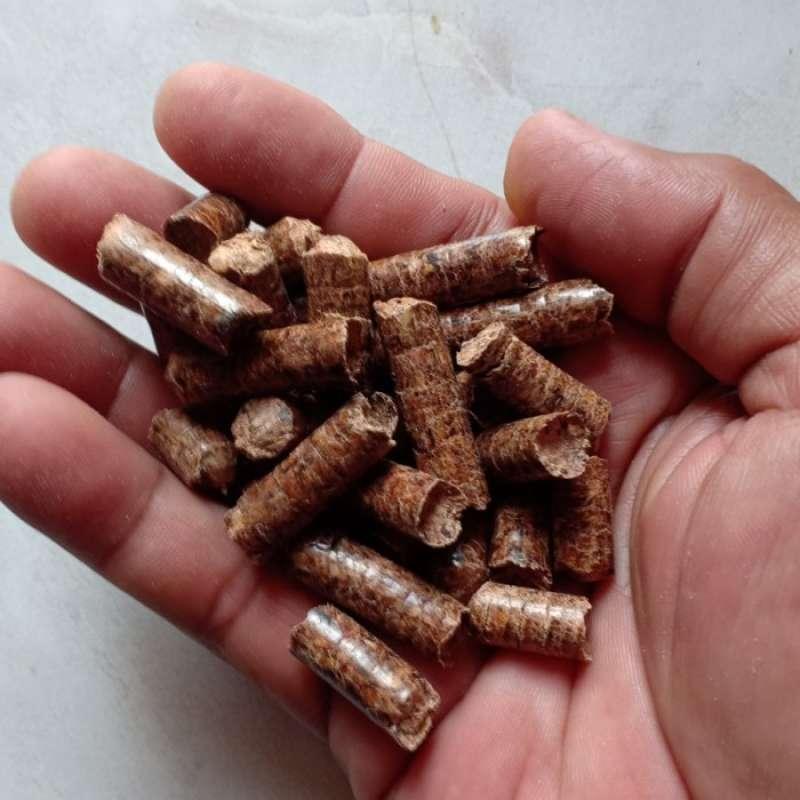 Isi 10 Kg Wood Pellet Pasir Kucing Penyerap Kotoran Hewan 100 Organik