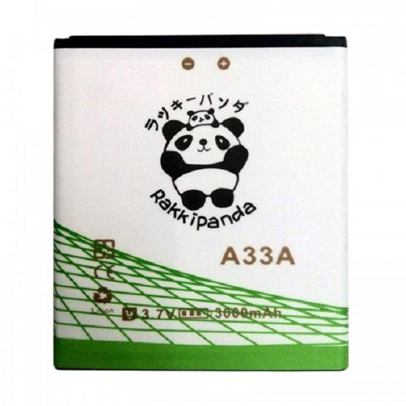 RAKKIPANDA Double Power IC Battery for Evercoss A33A
