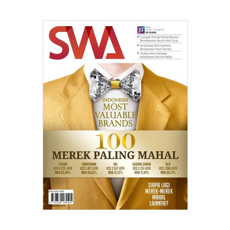 SWA Edisi 11-2017 Indonesia Most Valuable Brands 100 Merek Paling Mahal Majalah Bisnis