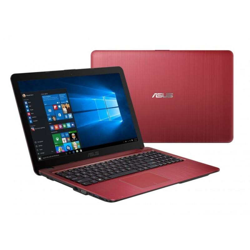 Asus X540YA-BX103T Notebook - Red [AMD E1-7010/R2/2 GB/500 GB/Win10/15.6 Inch]