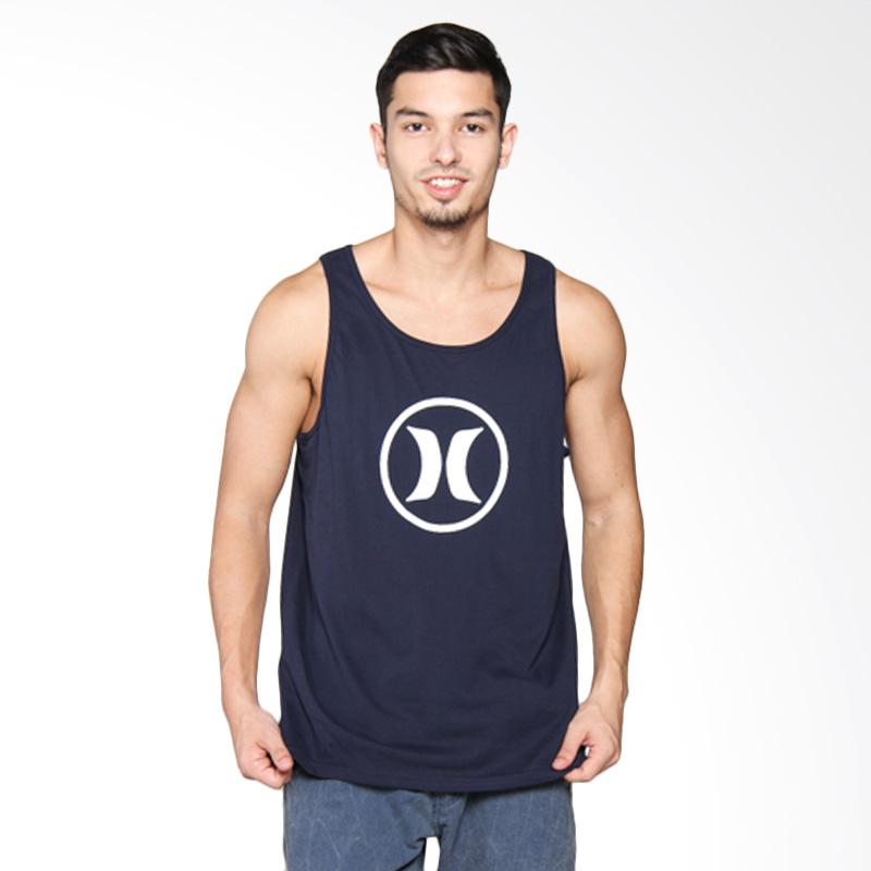Hurley Block Party DF Singlet - Obsidian White AMSIBKDF 45BA