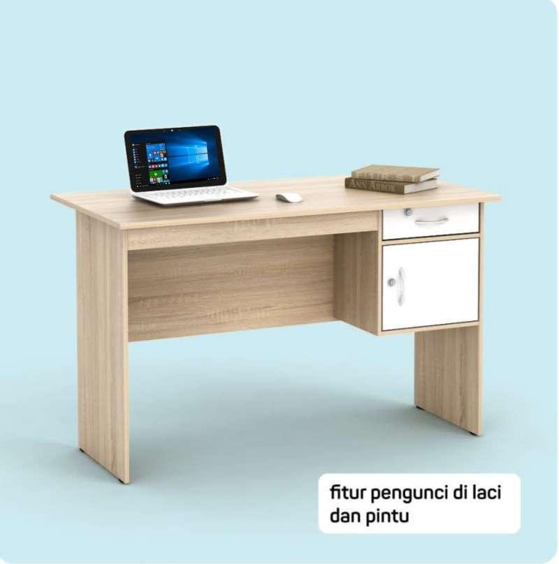 meja kantor kerja 120 new sonoma