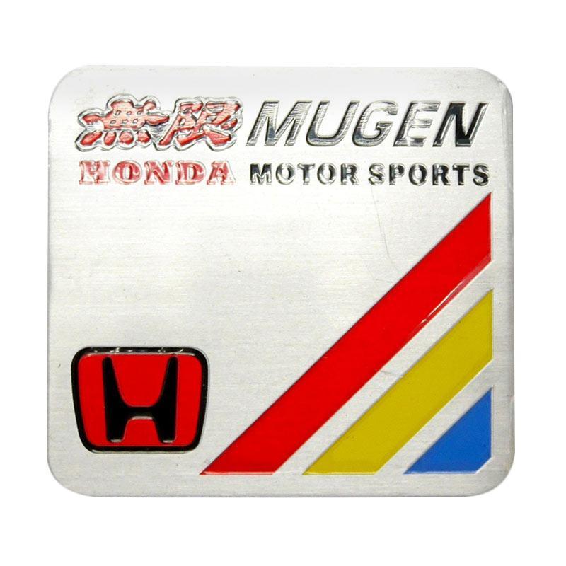 SIV EMB-MG02 Universal Emblem Mugen Honda Aksesories Bodi Mobil