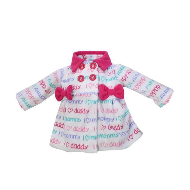 Bibbo Baby Blazer Mommy Daddy Jaket Bayi Perempuan - Pink