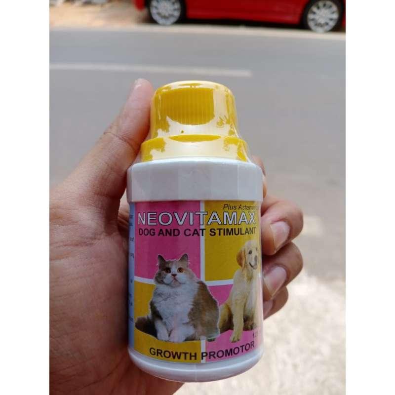 Neovitamax Cat Dog 125ml Vitamin B1 B12 Protein Asam Amino Kucing Anjing