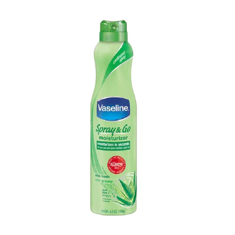 Vaseline Spray and Go Moisturizer - Aloe Fresh [184 g]