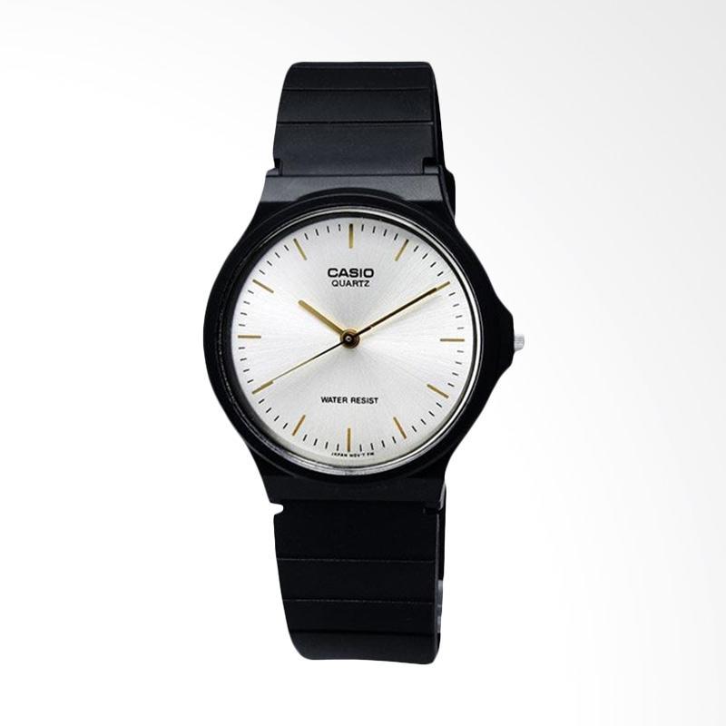 CASIO MQ-24-7E2LDF Standard Classic Quartz Jam Tangan Wanita - Black