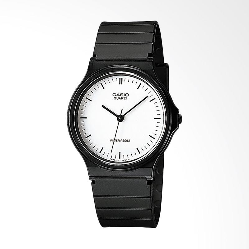 CASIO MQ-24-7ELDF Standard Classic Quartz Jam Tangan Wanita - Black