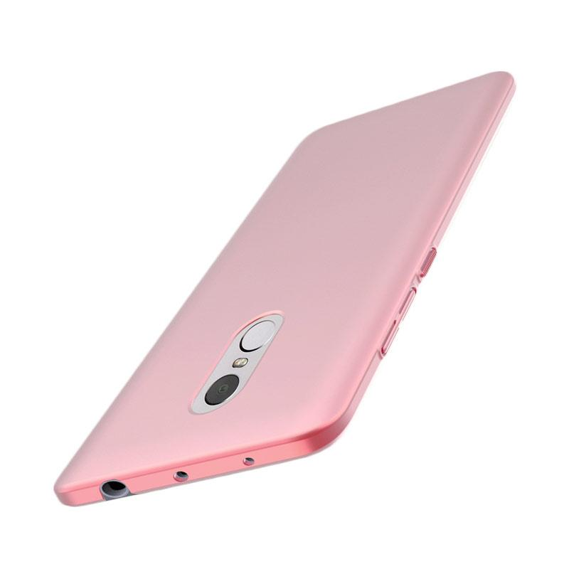 WEIKA Baby Skin Ultra Thin Hardcase Casing for Xiaomi Redmi Pro - Rose Gold