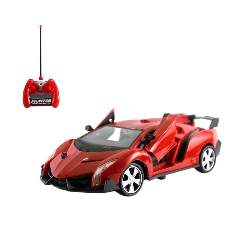 Yoyo Lamborghini Neo Mainan Remote Control - Red