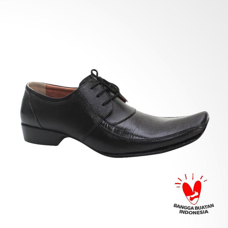 GRUTTY Sepatu Formal Pria - Hitam GR 81044