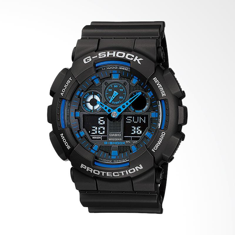 CASIO G-Shock Jam Tangan Pria GA-100-1A2DR