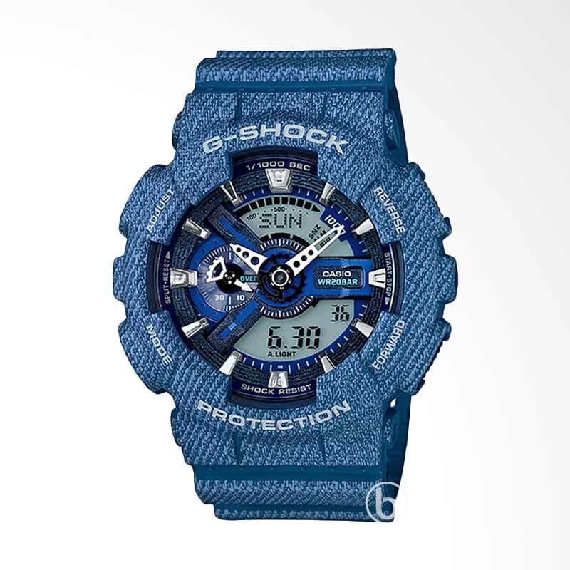CASIO G-Shock Jam Tangan Pria - Blue GA-110DC-2ADR