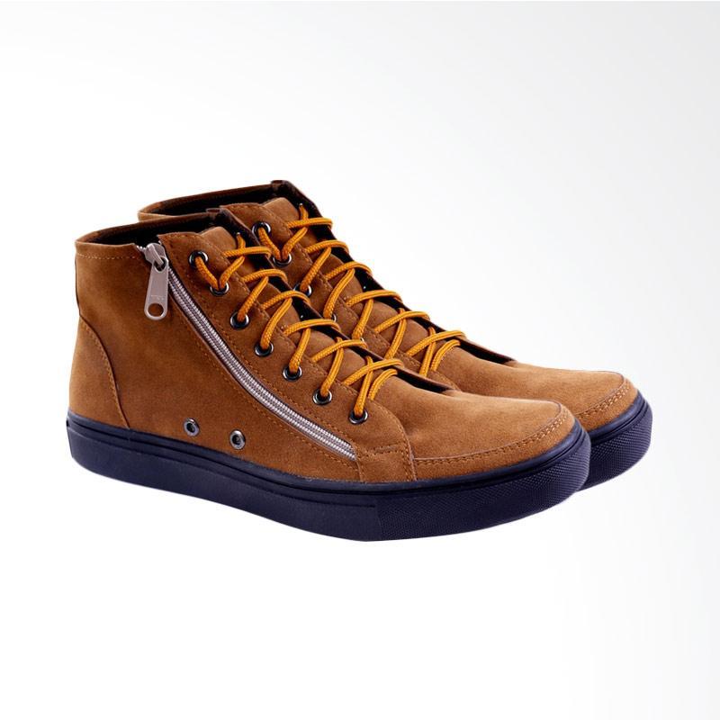 Garucci Sneakers Shoes - Tan GSY 1216