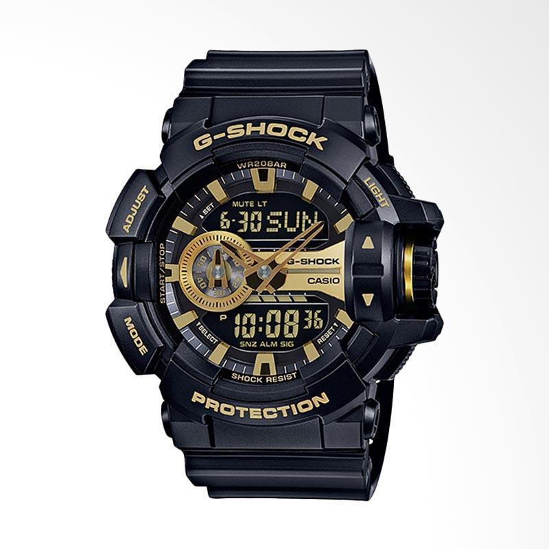 CASIO G-Shock Jam Tangan Pria - Black/Gold GA-400GB-1A9DR