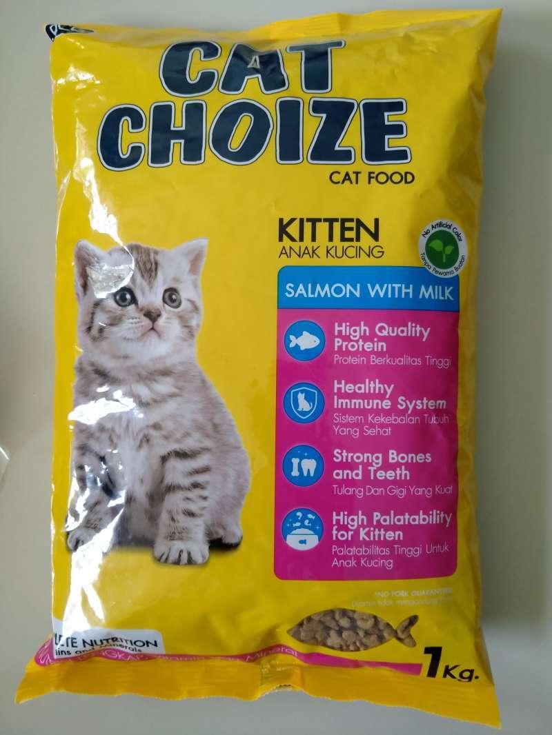 Makanan Kucing CAT CHOIZE 1kg KITTEN