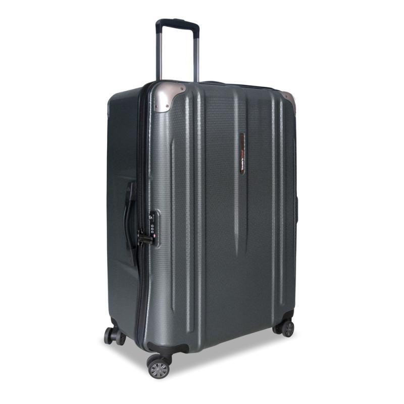 Traveler's Choice New London Hardcase Large Koper - Grey [29 Inch]