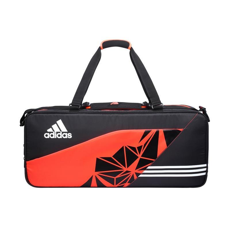 adidas Wutch P7 Thermo Bag Badminton Tournament Bag - Orange Black