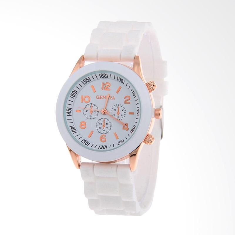 ... Strap Osq6j035y Daftar Update Source · Geneva Fashion Rubber Jam Tangan Wanita Putih