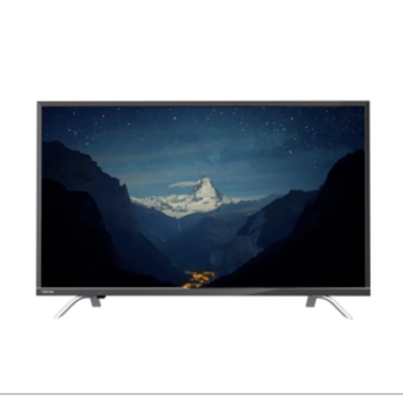Toshiba 49U7650 Smart TV - Hitam [49 Inch/4K/UHD]