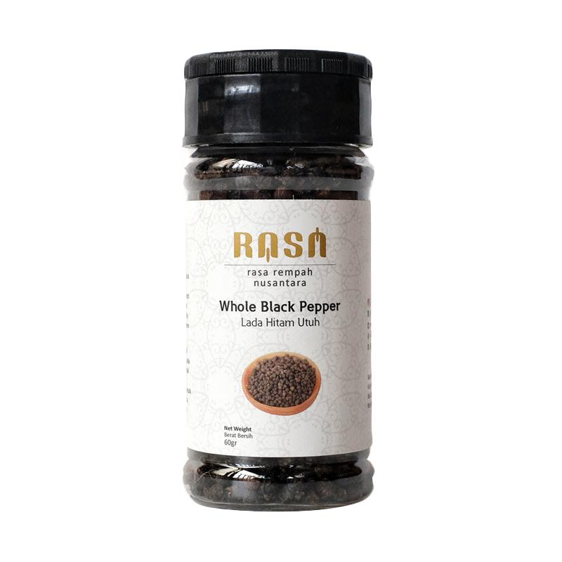 RASA Whole Black Pepper Lada Hitam Utuh Bumbu Masak [60 g]