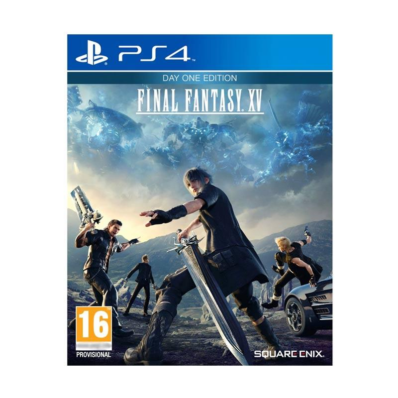 harga SONY PS4 Final Fantasy XV DVD Games Blibli.com