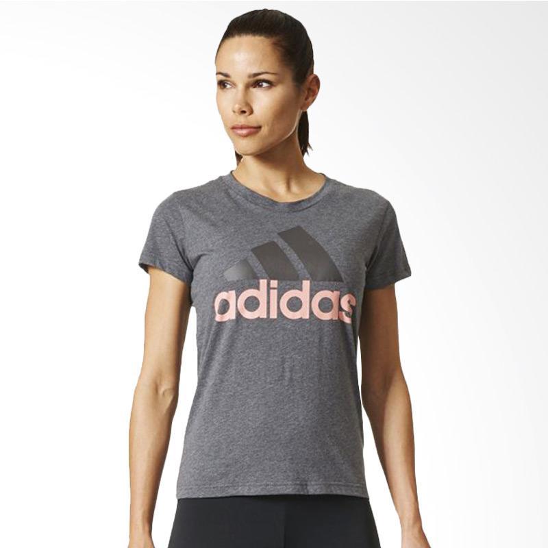 adidas Essnetials Linear Women's Tee Kaos Olahraga Wanita BR2566
