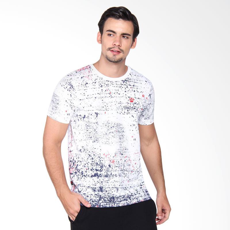 3Second Tshirt 1709 Kaos Pria - White 117091712