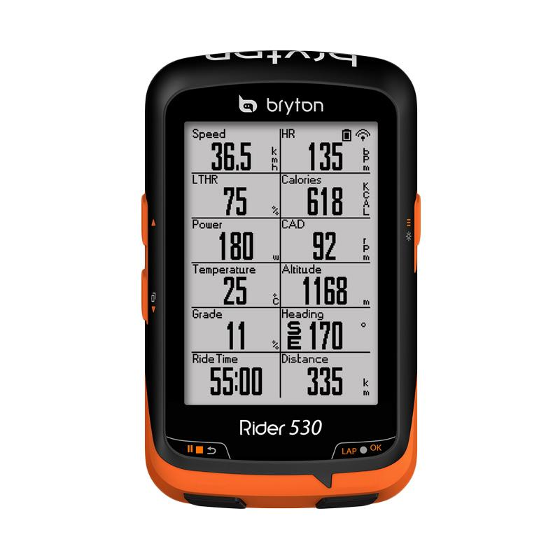 Bryton Rider 530T ANT+ Speed Cadence Dual Sensor Heart Rate Monitor GPS Cycling Computer