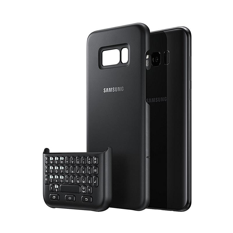 Samsung Keyboard Cover Casing for Galaxy S8 Plus - Black