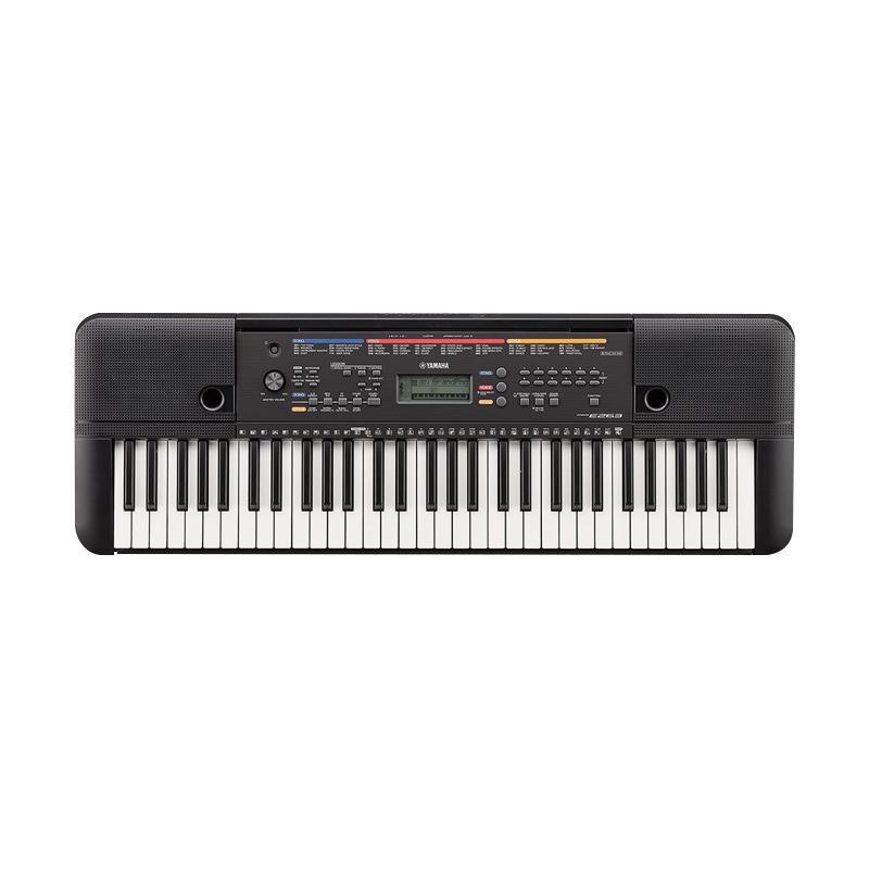 Yamaha PSR E263 Keyboard - Hitam
