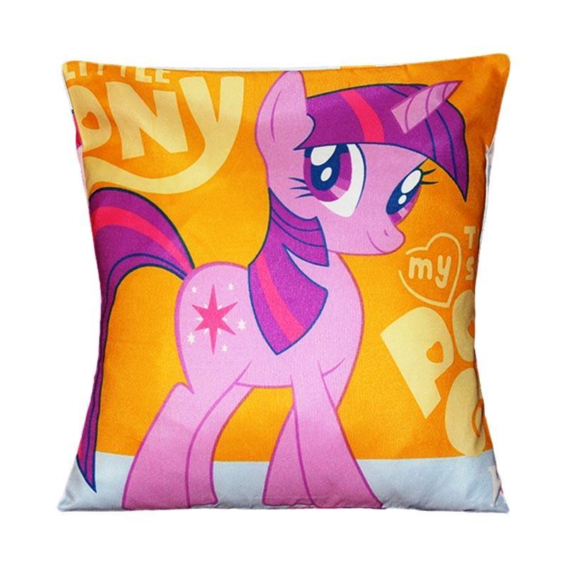 Monalisa Motif Little Pony Sarung Bantal Sofa [30 cm]