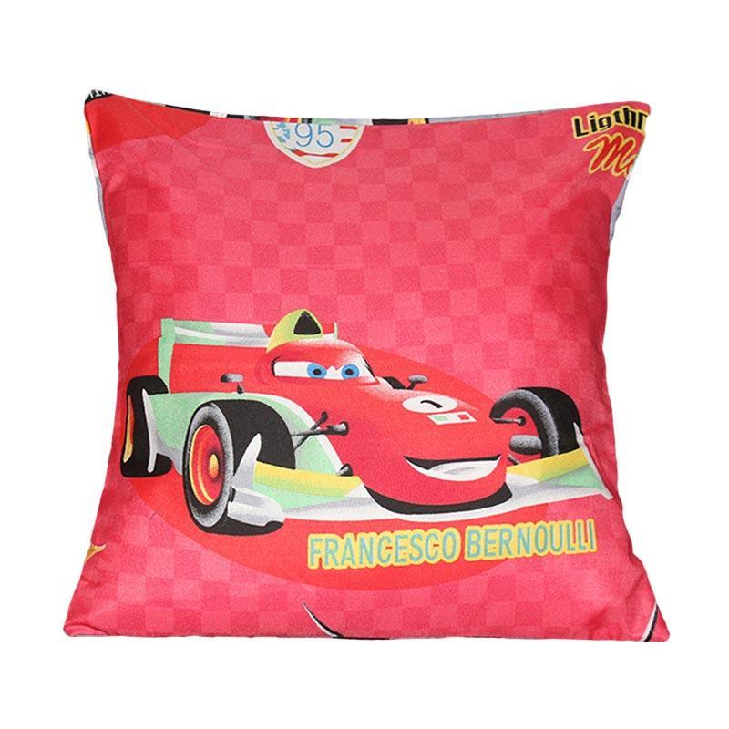 Monalisa Motif Cars Sarung Bantal Sofa [40 cm]