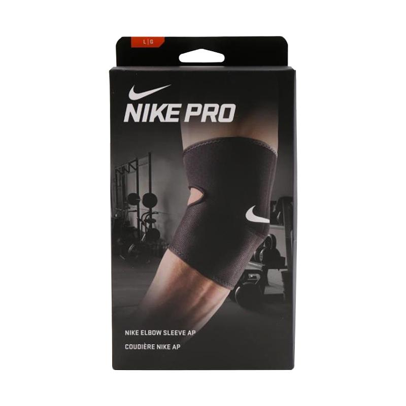 NIKE Pro Elbow Sleeve Pelindung Lengan dan Siku - Black NMS57010