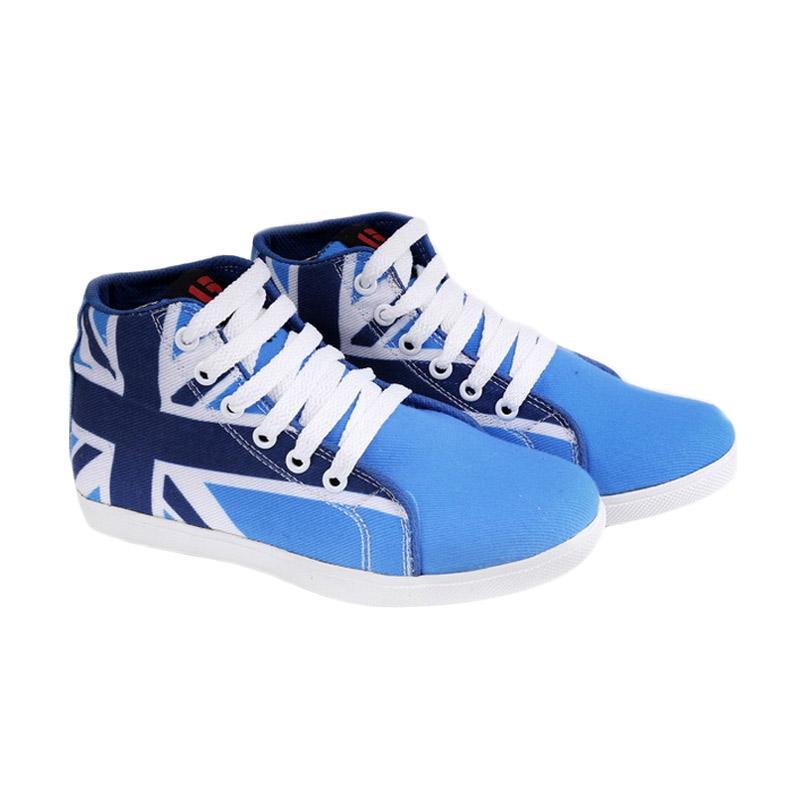 Garucci GDA 9067 Sepatu Kasual Anak Laki-Laki - Blue Comb