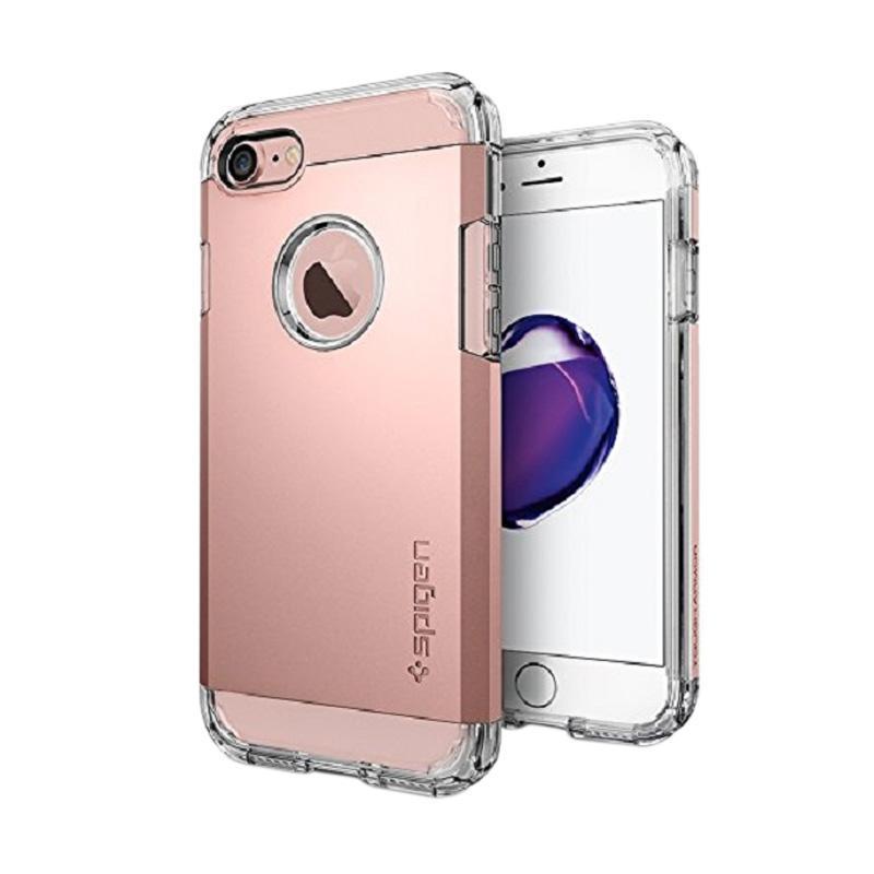 Spigen Tough Armor Casing for iPhone 7 2016 - Rose Gold