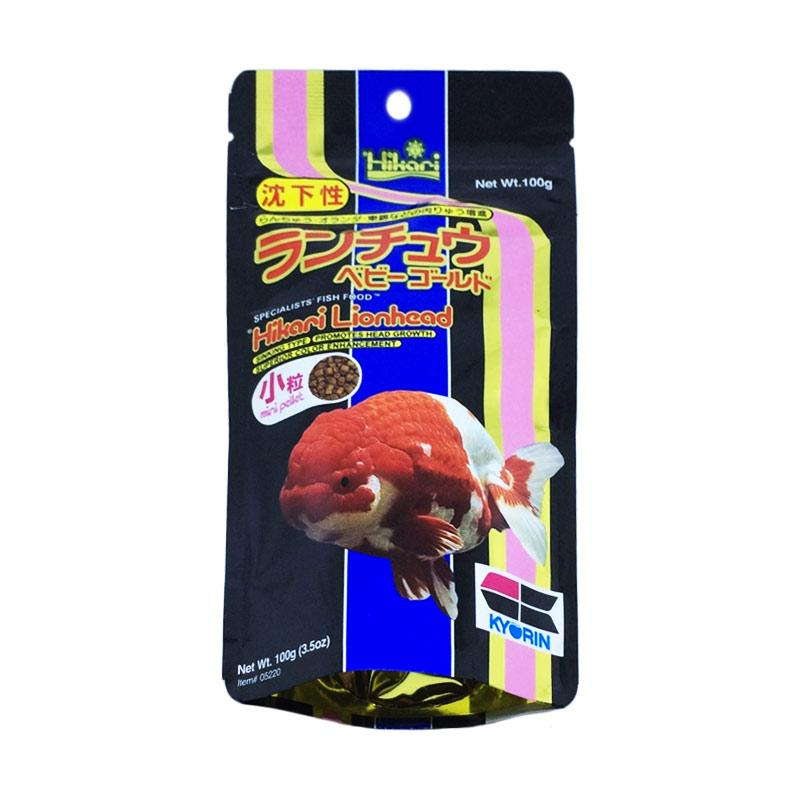 Hikari LionHead Makanan Ikan [100 g]