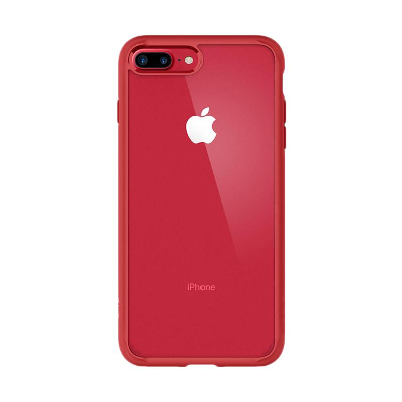 Spigen Ultra Hybrid Casing for iPhone 7 Plus 2017 - Red