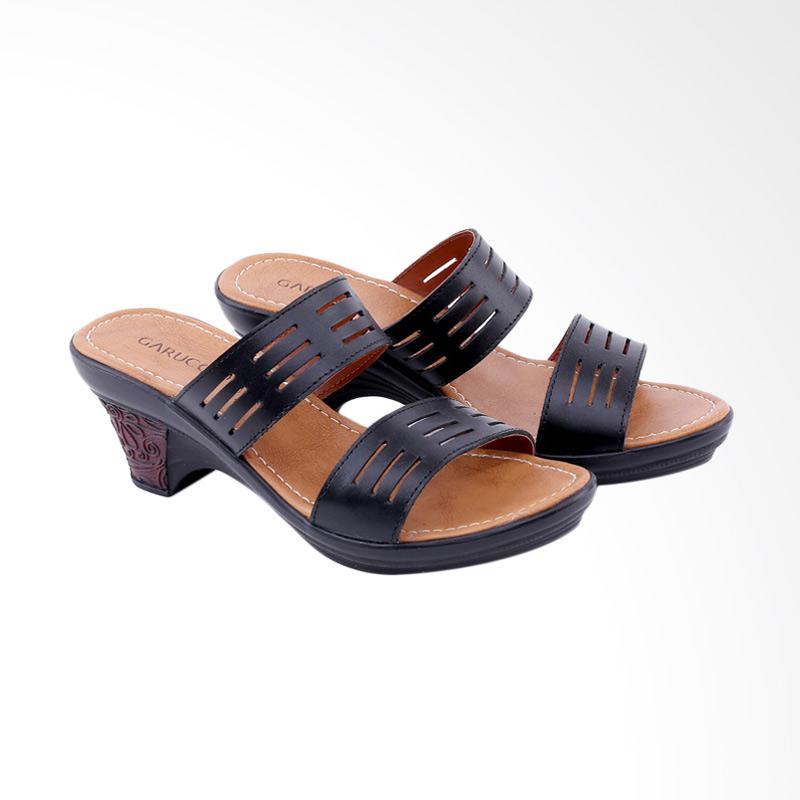 Garucci GEL 7292 Sandal Heels Wanita - Black