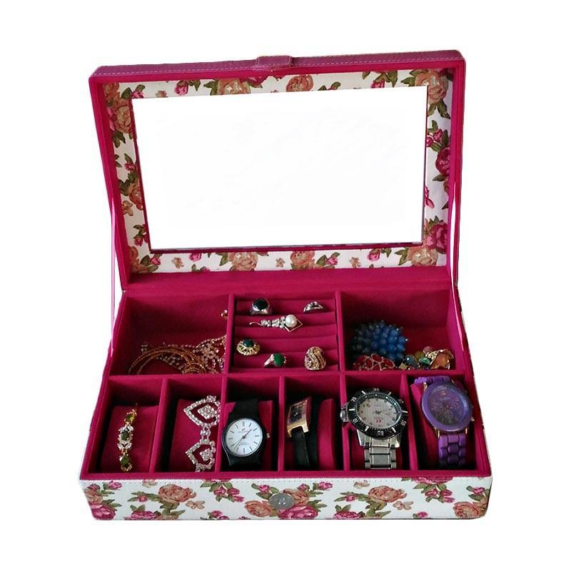 Kotak Jam dan Perhiasan BK01 Motif Shabby