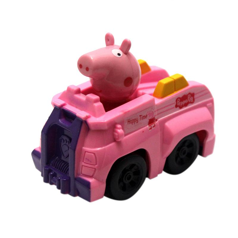 Skai Peppa Pig Car Mainan Anak - Pink